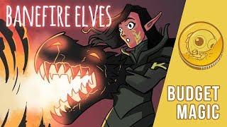 Budget Magic: Banefire Elves (Standard, Magic Arena)
