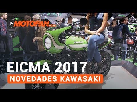 Vídeos de '(VIDEO) Las novedades de Kawasaki en el salón EICMA de Milán 2017'