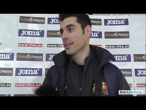 Javier Bermejo campeón de España de salto de altura