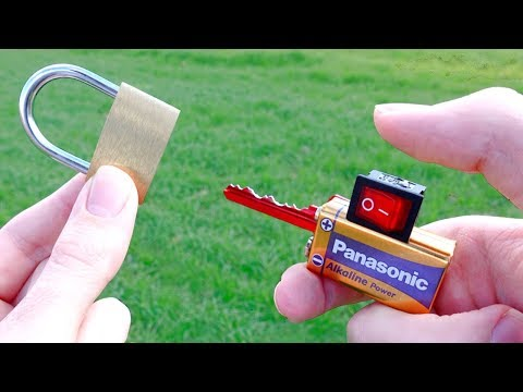 Simple Invention To Open Locks