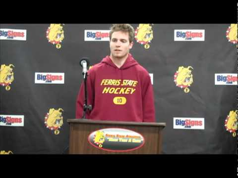 Justin Menke Hockey Press Conference 11/5/10