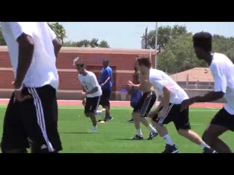 Islanders MBB Closes Summer Workouts with Football