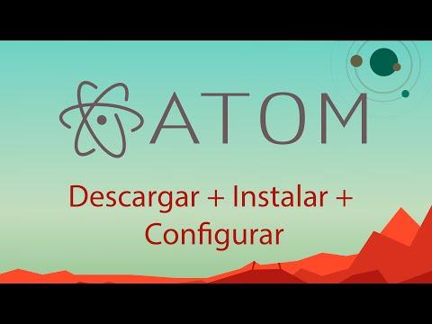 Atom: Descargar, instalar, Configurar Atom - Windows 10