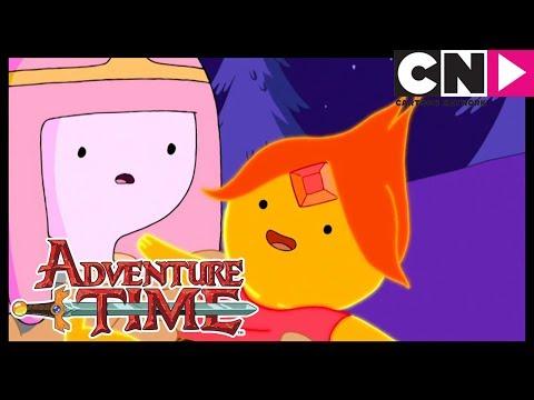 Adventure Time | Meet Flame Princess | Cartoon Network (видео)