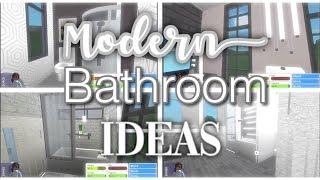 Modern Bathroom Ideas //bloxburg