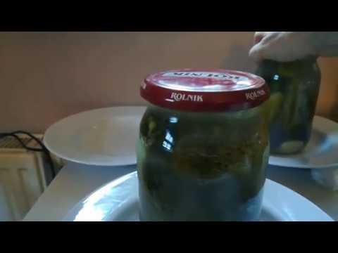 ogórki kiszone cz. 3 i placki ziemniaczane