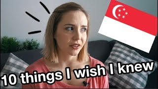 Video 10 Things I wish I knew before moving to Singapore // Expat living MP3, 3GP, MP4, WEBM, AVI, FLV Februari 2019
