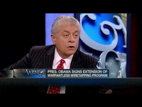 Judge Napolitano on Obama's Extension of Warrantless Wiretapping: 'Absolutely Unconstitutional'