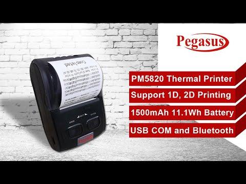 Pegasus PM5820 Mobile Printer