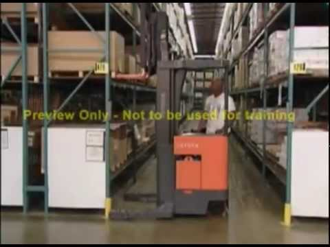 SAFE LIFT Reach Truck and Order Picker Training Kit  614-583-5749 *