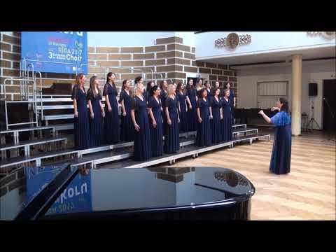 Λετονία 2017 Γυναικεία χορωδία Γιάννη μου το μαντήλι σου