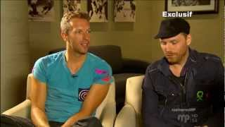 Coldplay, interview on Musique Plus, july 26