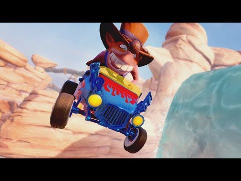 Customisation trailer de Crash Team Racing : Nitro Fueled