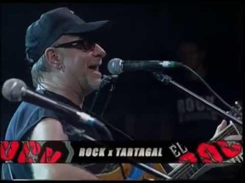 León Gieco video El fantasma de Canterville - Rock por Tartagal 2009