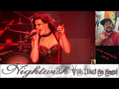 Nightwish - Wish I Had an Angel Live Wacken 2013 (LED Reacts....Blown Away With Stage Presence!!!)