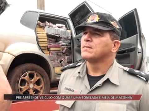 SUDOESTE GOIANO | PRE apreende veículo com quase uma tonelada e meia de maconha