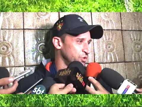 [JOGO ABERTO PE] Sport: Magrão fala sobre a lesão