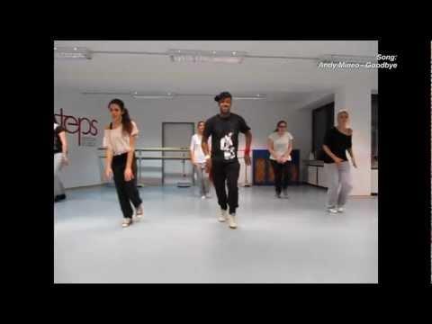 SAMMY YANKEY @ steps dance studios koblenz | BEGINNER CLASSES 2013