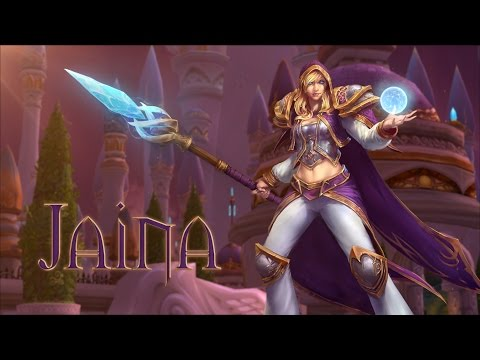 Heroes Of The Storm: Jaina Trailer