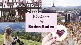 Baden-Baden Germany  City pictures : TRAVEL VLOG: Baden-Baden and the black forest