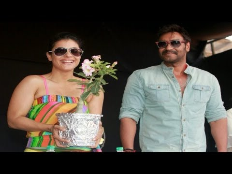 kajol - Ajay Devgn, Kajol and Tanuja graced a fun fair held by 'Lonavala Khandala Citizens Forum' (LKCF) and emphasized on the need to keep the popular twin hill sta...