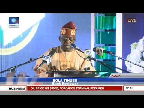 Bola Tinubu Speaks At Book Presentation On President Muhammadu Buhari Pt. 1