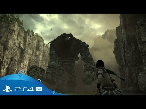 Shadow of the Colossus   TGS 2017 Trailer   PS4 Pro