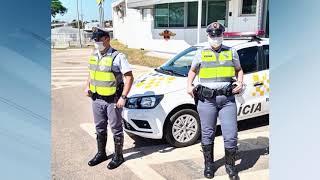 Itapetininga: policiais rodoviários salvam bebê engasgada