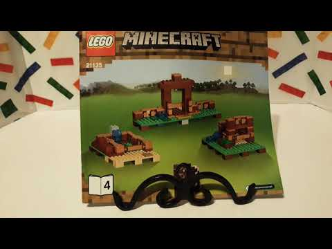 (Part 5) The Crafting Box 2.0, '2017' Lego Minecraft 21135