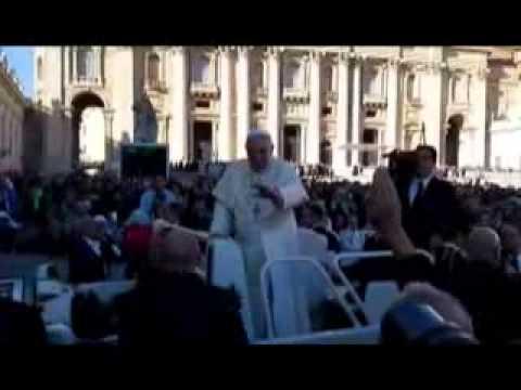ROMA : I LAVORATORI DELL' AGNESI DA PAPA FRANCESCO