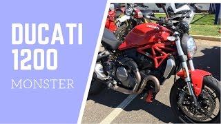 3. 2017 Ducati Monster 1200 Review