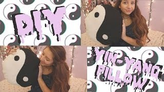 DIY Yin&Yang Pillow⎜No-Sew! - YouTube