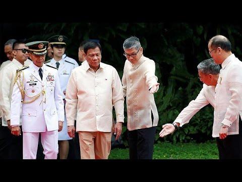 Ορκίστηκε πρόεδρος των Φιλιππίνων ο Ροντρίγκο Ντουτέρτε