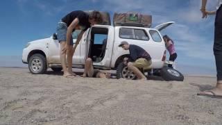 10 Tage durch die endlosen Weiten Namibias. Unsere Tour startete in der kleinen Küstenstadt Swakopmund vorbei an den...
