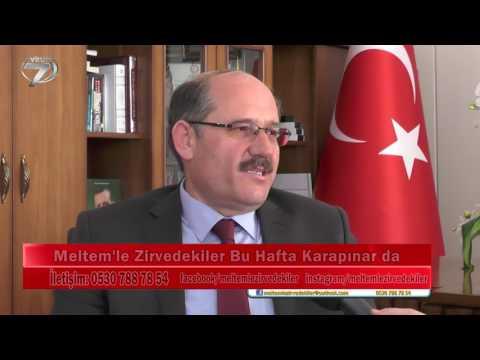 Belediye Baskanimiz Mehmet Yaka'nin 19 Mart Pazar günü Kanal 7 Avrupa'da yayinlanan Meltem'le Zirvedekiler programinin çekim kaydi...
