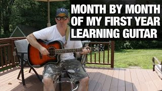 Video Guy Gets Guitar ,Learns to Play It MP3, 3GP, MP4, WEBM, AVI, FLV Maret 2018