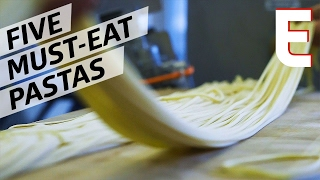 Eater's Top Five Pasta Process Videos — Snack Break by Eater