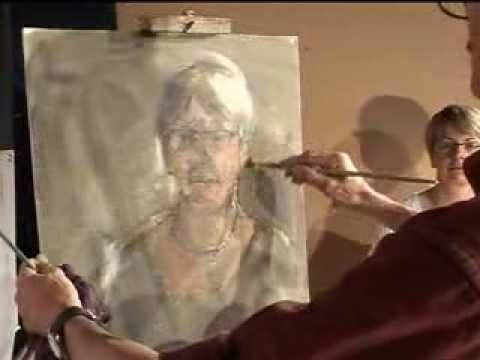 portraiture in oils
