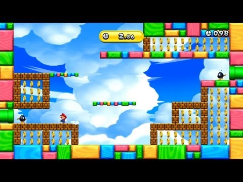 New Super Mario Bros. U -- Attack of the Bob-ombs (Gold Medal)