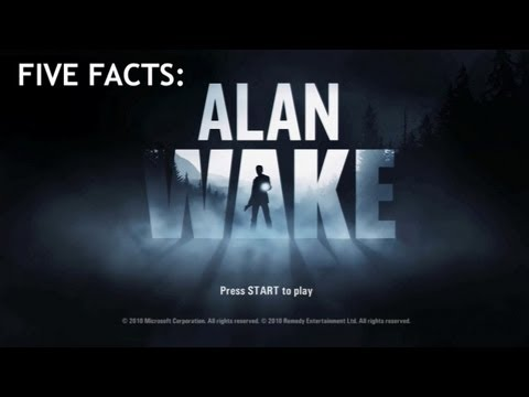 alan wake - Jack and Geoff visit Bright Falls and learn Five Facts about Alan Wake!