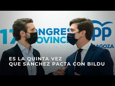 Es la quinta vez que Sánchez pacta con Bildu