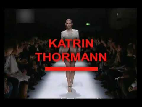 0 in KATRIN THORMANN- FIRST FACE MODEL S/S 09