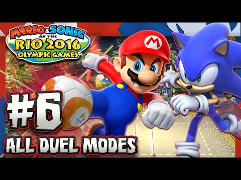 Mario & Sonic at the Rio 2016 Olympic Games – Wii U – Part 6 ALL DUEL MODES
