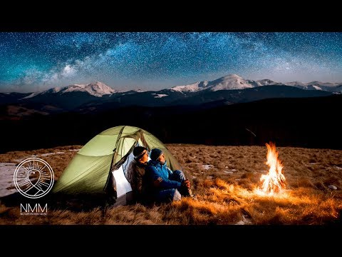 Sleep Sounds: Cozy Campfire Sounds & Distant Flute