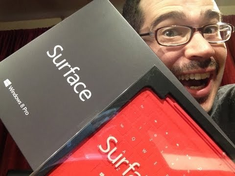 Microsoft Surface Pro Unboxing