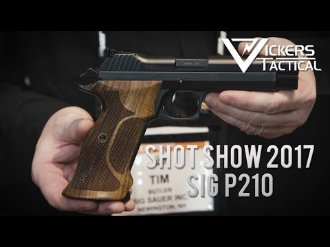 Shot Show 2017 - Sig Sauer P210