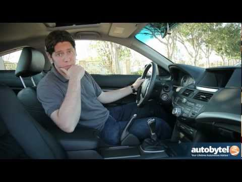 2012 Honda Accord Coupe: Video Road Test and Review