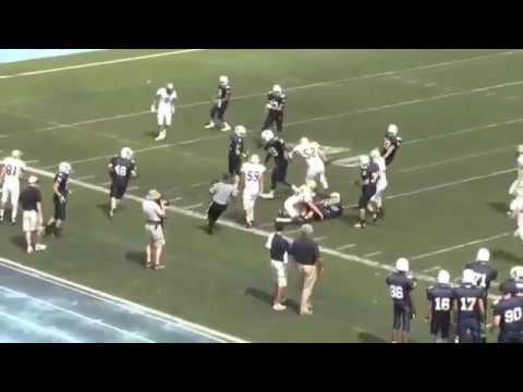 denucci - Joe DeNucci, Jr. XBHS Football Massachusetts. D1Catholic Conference. Sophomore WR/S 6'1