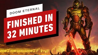 Doom Eternal Finished in Under 33 Minutes by IGN