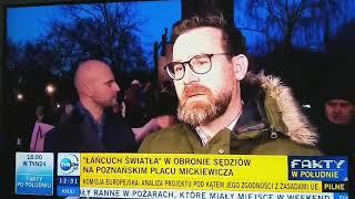 Tak całą Polskę niech zalewa fala sprzeciwu wobec głupoty, wprowadzaniu miernoty i bezprawia!